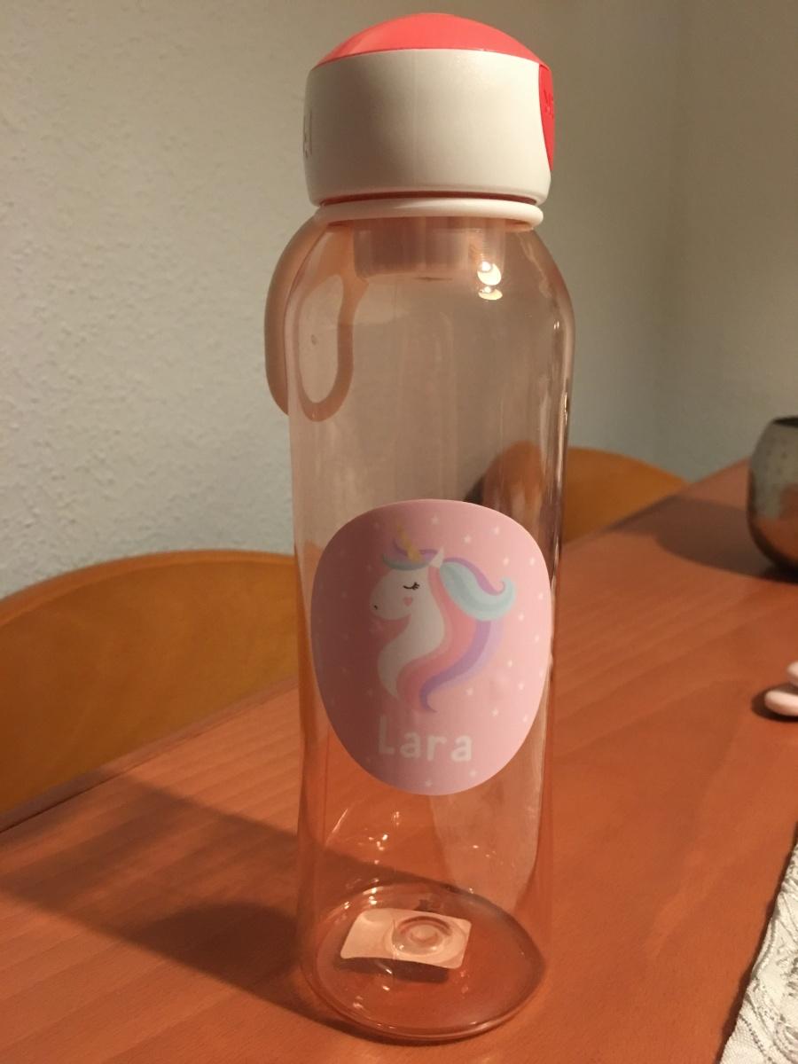 botella unicornio agua lara